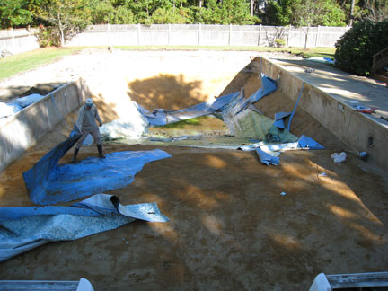 Swimming Pool Conversion From Vinyl Liner East Coast Pools
